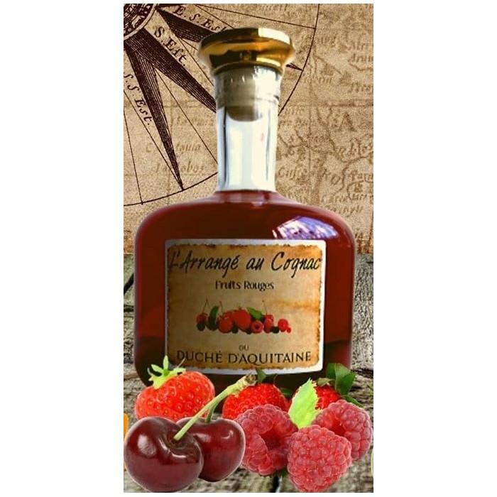Cognac Arrangé fruits rouges
