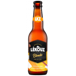 Bière Lekouz Blonde lot de 12