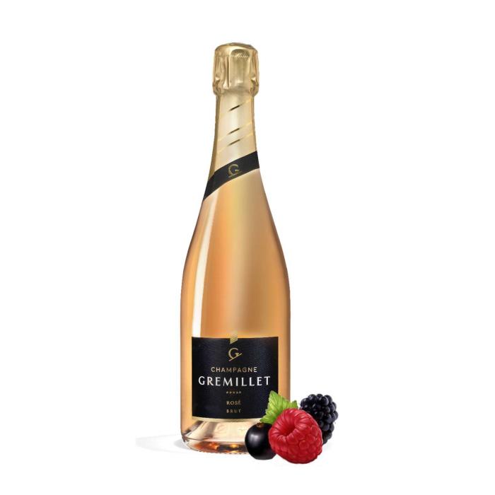 Champagne Gremillet ROSÉ...
